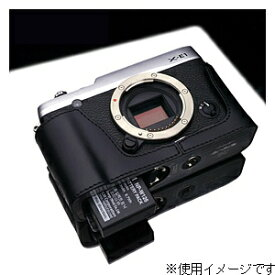 GARIZ ゲリズ 本革カメラケース 【FUJIFILM X-E1/X-E2兼用】(ブラック) XS-CHXE1BK[生産完了品 在庫限り][XSCHXE1BK]
