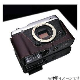 GARIZ ゲリズ 本革カメラケース 【FUJIFILM X-E1/X-E2兼用】(ブラウン) XS-CHXE1BR[生産完了品 在庫限り][XSCHXE1BR]