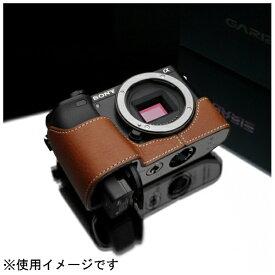 Kカンパニー 本革カメラケース 【ソニー α6000用】(キャメル) XS-CHA6000CM[XSCHA6000CM]