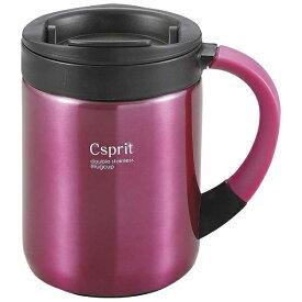 キャプテンスタッグ CAPTAIN STAG シーエスプリ ダブルステンレスマグカップ280(ピンク) M5362