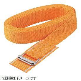 トラスコ中山 簡易結束ベルト くくり帯 40mmX3m 黄 KR403