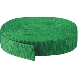トラスコ中山 PPベルト幅40mmX長さ10m 緑 PPB4010