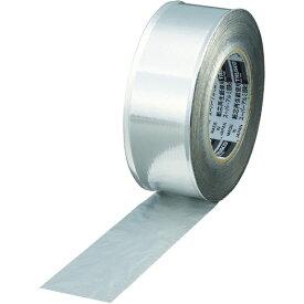トラスコ中山 スーパーアルミ箔粘着テープ ツヤあり 幅50mmX長さ50m TRAT501