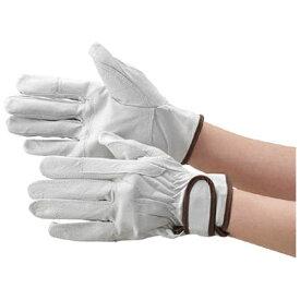 トラスコ中山 マジック式革手袋 当て付タイプ LLサイズ TYK718LL