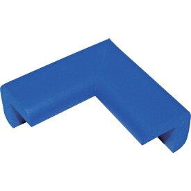 トラスコ中山 安心クッションコーナー用 小 ブルー TAC27
