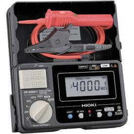 日置電機 HIOKI 5レンジ絶縁抵抗計 スイッチ付きリード IR405111