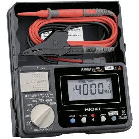 日置電機 HIOKI 5レンジ絶縁抵抗計 ハードケースモデル IR405110