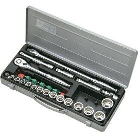 京都機械工具 KYOTO TOOL 12.7sq.ソケットレンチセット[21点] TB415X