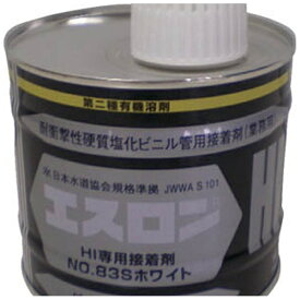 積水化学工業 SEKISUI 接着剤NO83Sホワイト 500g S835G