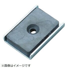 トラスコ中山 キャップ付フェライト磁石25.5mmX23.5mmX6.5mm TFC25KA1P