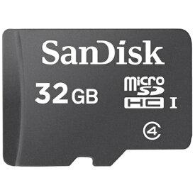 サンディスク SanDisk microSDHCカード スタンダードシリーズ SDSDQ-032G-J35U [32GB /Class4][SDSDQ032GJ35U]