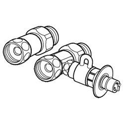 パナソニック 食器洗い乾燥機用 分岐水栓 CB-S268A6[CBS268A6] panasonic