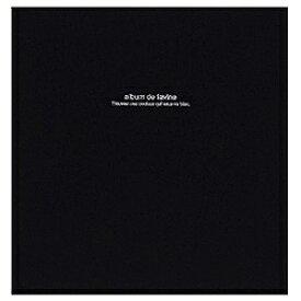 ナカバヤシ Nakabayashi 100年台紙「ドゥファビネ」 (Lサイズ/ブラック) アH-LD-191-D[アHLD191D]