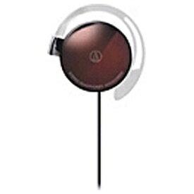 オーディオテクニカ audio-technica 耳かけ型 ATH-EQ300M BW ブラウン [φ3.5mm ミニプラグ][ATHEQ300MBW]