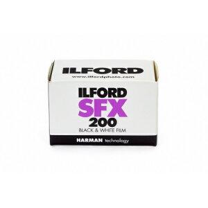イルフォード ILFORD 赤外感光性モノクロフィルム SFX200 135-36枚撮り[SFX200135361]