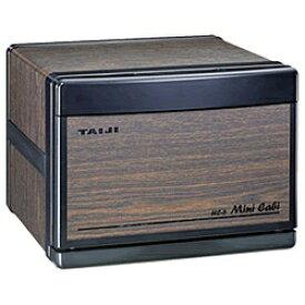 タイジ TAIJI 電気タオル蒸し器 「ミニキャビ」 HC-6-M 木目/ブラック[HC6M]
