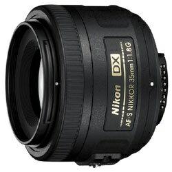 【送料無料】 ニコン カメラレンズ AF-S DX Nikkor 35mm F1.8G【ニコンFマウント(APS-C用)】[AFSDX35MMF18G]