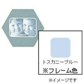 チクマ Chikuma フォトフレーム 「ハニマット」(L1枚入り・角ヨコ/トスカニーブルー) 14441-0[ハニマットLサイズカクヨコ]