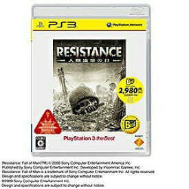 ソニーインタラクティブエンタテインメント Sony Interactive Entertainmen RESISTANCE 〜人類没落の日〜 PLAYSTATION 3 the Best(再廉価版)【PS3】
