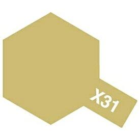 タミヤ TAMIYA タミヤカラー アクリルミニ X-31 チタンゴールド[81531]【rb_pcp】