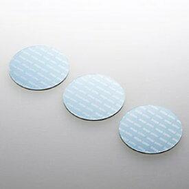 サンワサプライ SANWA SUPPLY ノートパソコン冷却パッド 丸型・3枚入り (ブルー) TK-CLNP3BL[TKCLNP3BL]