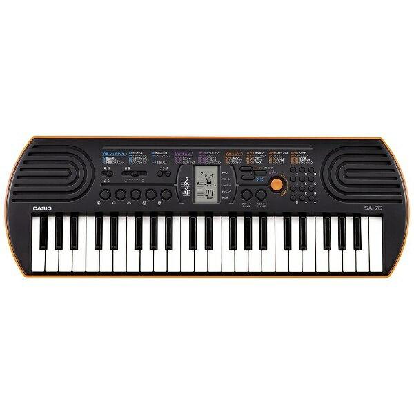 カシオ CASIO ミニキーボード(44ミニ鍵盤) SA-76[SA76]