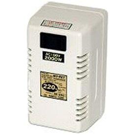 日章工業 NISSYO INDUSTRY 変圧器(ダウントランス・熱器具専用) DE-200[DE200]