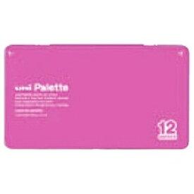 三菱鉛筆 MITSUBISHI PENCIL [色鉛筆] No.880 uni Palette ピンク 12色 K88012CPLT.13[K88012CPLT.13]