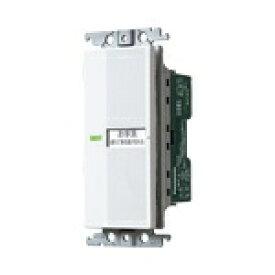 パナソニック Panasonic WTC5383W 埋込電子トイレ換気スイッチ(照明・換気扇連動形)(換気扇消し遅れ0 - 約5分可変形) コスモシリーズワイド21 ホワイト WTC5383W[WTC5383W] panasonic