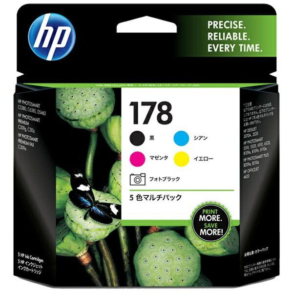 HP 【純正】 HP178(5色) インクカートリッジ CR282AA
