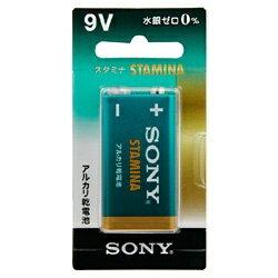 ソニー SONY 6LR61SG-BHD 9V角形 乾電池 スタミナ(STAMINA) [1本 /アルカリ][6LR61SGBHD]