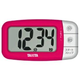 タニタ TANITA デジタルタイマー でか見えプラス TD394-PK フレッシュピンク[TD394PK]