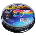 磁気研究所 録画用 BD-R DL Ver.1.3 1-6倍速 50GB 10枚【インクジェットプリンタ対応】HDBD-RDL6X10SP[HDBDRDL6X10SP]