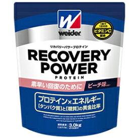 森永製菓 MORINAGA ウイダー リカバリーパワープロテイン【ピーチ風味/3.0kg】28MM12303