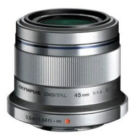 オリンパス OLYMPUS カメラレンズ 45mm F1.8 M.ZUIKO DIGITAL(ズイコーデジタル) シルバー [マイクロフォーサーズ /単焦点レンズ][45MMF1.8]