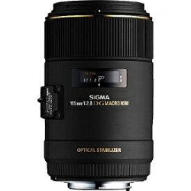 シグマ SIGMA カメラレンズ MACRO 105mm F2.8 EX DG OS HSM ブラック [キヤノンEF /単焦点レンズ][MACRO10528EXDGOSEO]