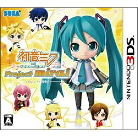 セガ SEGA 初音ミク and Future Stars Project mirai 通常版【3DSゲームソフト】