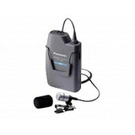 パナソニック Panasonic ワイヤレスマイク(300MHz帯 PLL タイピン形) WX-1800【受発注・受注生産商品】[WX1800] panasonic 【代金引換配送不可】