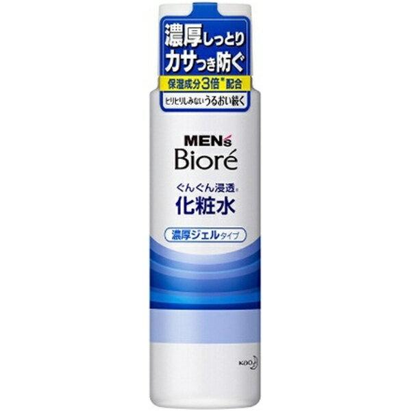 花王 Kao MEN's Biore(メンズビオレ) 浸透化粧水 濃厚ジェルタイプ(180ml)