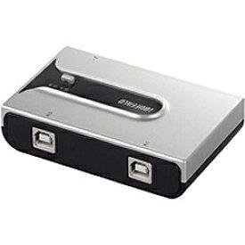 BUFFALO バッファロー USB2.0切替器 シルバー BSU2K21SSV [2入力 /1出力][BSU2K21SSV]
