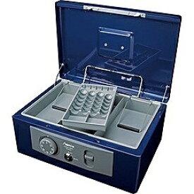 アスカ ASKA MCB630 手提金庫 A4サイズ Asmix(アスミックス) ブルー [鍵式+ダイヤル式]
