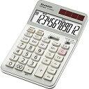 シャープ SHARP 実務電卓(ナイスサイズタイプ・12桁) EL-N942C-X [ELN942CX]