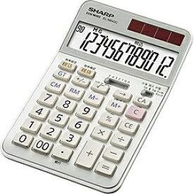 シャープ SHARP 実務電卓 ナイスサイズタイプ EL-N942C-X [12桁][ELN942CX]