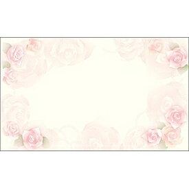 ササガワ SASAGAWA 〔インクジェット〕 カード紙 (名刺サイズ×30枚) ロージー 16-1635[161635]