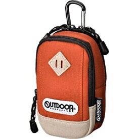 アウトドアプロダクツ OUTDOOR PRODUCTS カメラポーチ 01(オレンジ) ODCP01OR