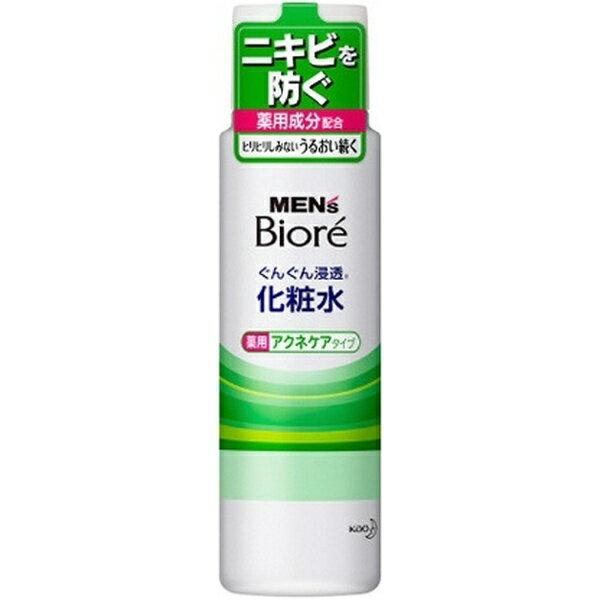 花王 Kao MEN's Biore(メンズビオレ) ぐんぐん浸透化粧水 薬用アクネケアタイプ(180ml)