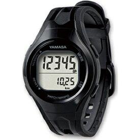 山佐時計計器 YAMASA TM-400-BB 歩数計 ウォッチ万歩計 WATCH MANPO ブラック×ブラック [手首式][TM400BB]