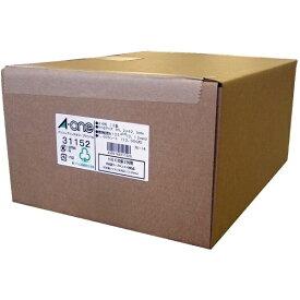 エーワン A-one パソコンプリンタ&ワープロラベル NEC文豪シリーズタイプ2列用 ホワイト 31152 [A4 /1000シート /12面 /マット][宛名シール]