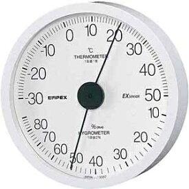 エンペックス EMPEX INSTRUMENTS TM-6201 温湿度計 エクストラ ホワイト [アナログ][TM6201]