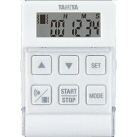 タニタ TANITA バイブレーションタイマー24時間計 クイック TD-370N-WH ホワイト[TD370NWH]